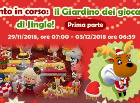 Animal Crossing: Pocket Camp, iniziato l'evento natalizio, Giardino dei giocattoli di Jingle