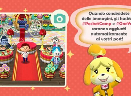Animal Crossing: Pocket Camp: ora disponibile l'evento dedicato al primo anniversario del titolo mobile