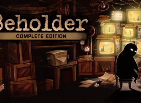 Beholder: Complete Edition, il titolo è in arrivo il 6 dicembre sull'eShop di Nintendo Switch