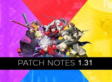 BlazBlue: Cross Tag Battle, il titolo aggiornato alla versione 1.3.1 sui Nintendo Switch europei