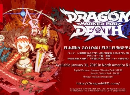 Dragon Marked for Death: il titolo è in arrivo il 31 gennaio 2019 sui Nintendo Switch europei