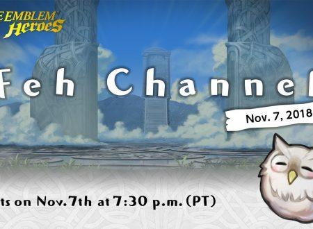 Fire Emblem Heroes: svelato il nuovo livestream del FEH Channel del 7 novembre