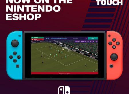 Football Manager 2019 Touch: il titolo è ora disponibile sui Nintendo Switch europei