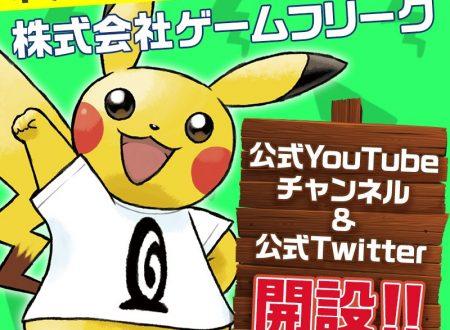 Gamefreak apre il suo profilo Twitter e il suo canale Youtube ufficiale