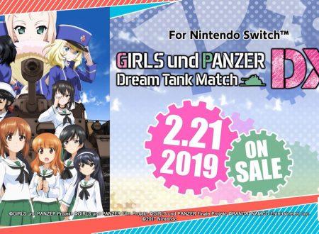 Girls und Panzer: Dream Tank Match DX: il titolo è in arrivo il 21 febbraio sui Nintendo Switch nipponici