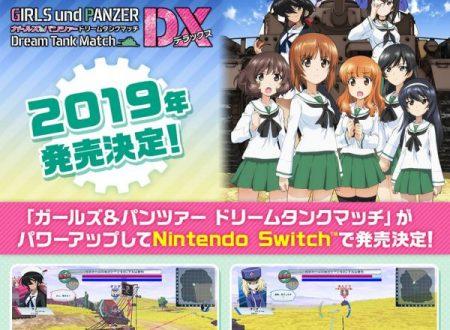 Girls und Panzer: Dream Tank Match DX: il titolo è in arrivo nel 2019 sui Nintendo Switch giapponesi
