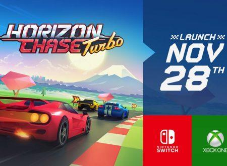 Horizon Chase Turbo: il titolo sarà disponibile il 28 novembre su Nintendo Switch