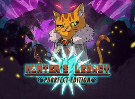 Hunter's Legacy: Purrfect Edition, il titolo è in arrivo il 13 dicembre sull'eShop di Nintendo Switch