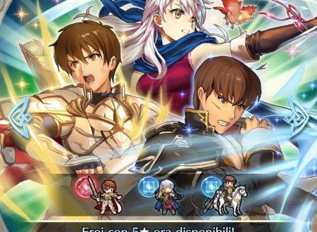 Fire Emblem Heroes: ora disponibile la preferenza evocazione: eroi con Trascina Att.