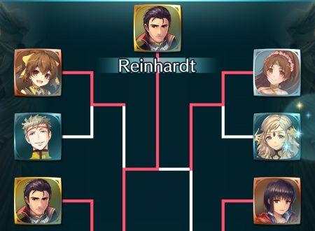 Fire Emblem Heroes: Reinhardt è il vincitore della sfida ai voti: Scontro tonante