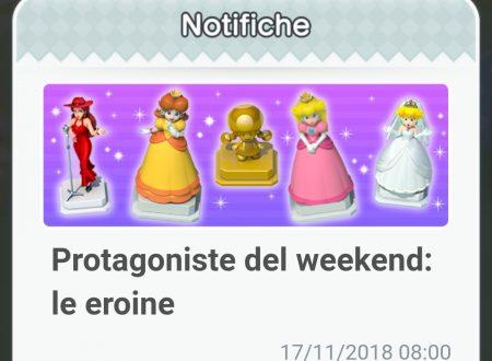 Super Mario Run: ora disponibili gli oggetti delle eroine, protagoniste del weekend