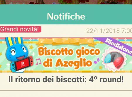 Animal Crossing: Pocket Camp, ritorno per il biscotto della fortuna di Azeglio