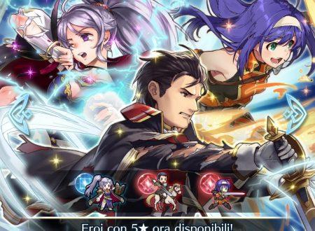 Fire Emblem Heroes: ora disponibile la preferenza evocazione: eroi con Vantaggio