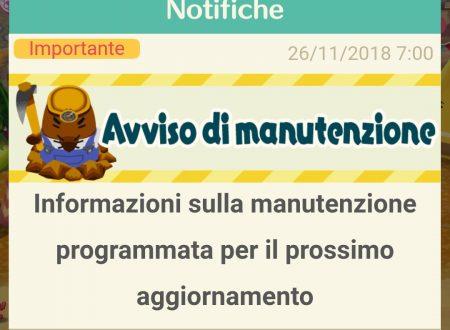 Animal Crossing: Pocket Camp, annunciata una nuova manutenzione per il 28 novembre