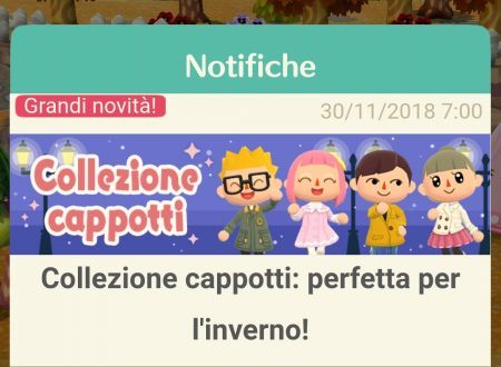 Animal Crossing: Pocket Camp, la collezione cappotti: perfetta per l'inverno, è ora disponibile