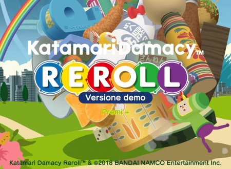 Katamari Damacy Reroll: uno sguardo in video alla demo, ora disponibile sui Nintendo Switch giapponesi