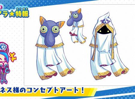 Kirby Star Allies: pubblicati dei nuovi concept art dedicati ad Hyness