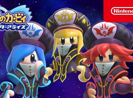 Kirby Star Allies: pubblicato il trailer completo dedicato alle Three Mage-Sisters