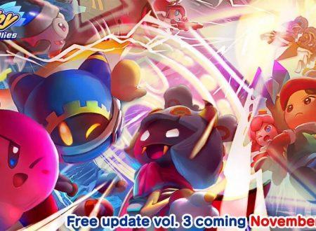 Kirby Star Allies: pubblicato il trailer dedicato alla modalità Another Dimension Heroes