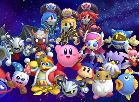 Kirby Star Allies: titolo aggiornato alla versione 4.0.0, sguardo in video ai nuovi amici da sogno e la modalità Another Dimension Heroes