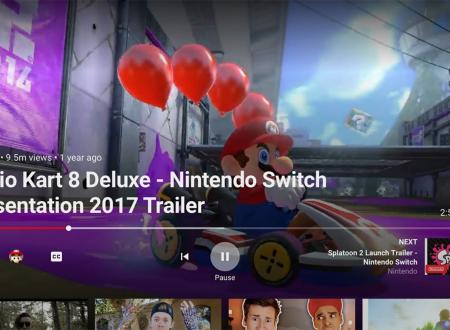 L'app di Youtube è ora scaricabile gratuitamente dall'eShop europeo di Nintendo Switch