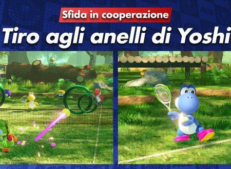 Mario Tennis Aces: nuovi trailer per Pipino Piranha e Tipo Timido, in arrivo il Tiro agli anelli di Yoshi