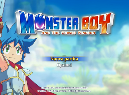Monster Boy and the Cursed Kingdom, i primi 43 minuti di gameplay del titolo su Nintendo Switch