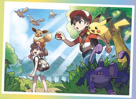 My Nintendo: disponibile uno sfondo esclusivo per PC e mobile su Pokèmon Let's Go, Pikachu e Eevee