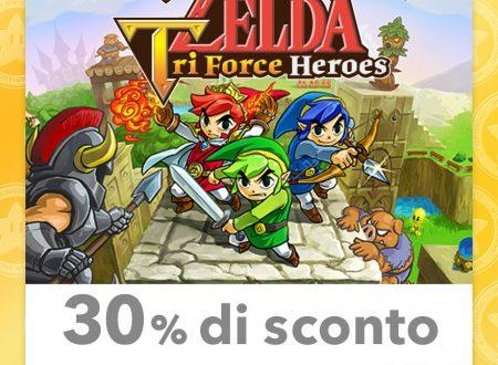 My Nintendo: nuovi sconti per titoli come Paper Mario, Kid Icarus: Uprising e The Legend of Zelda: Tri Force Heroes