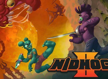 Nidhogg 2: il titolo è in arrivo il 22 novembre sull'eShop di Nintendo Switch