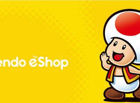 Nintendo eShop: Switch, Wii U e 3DS, le uscite settimanali del 29 novembre 2018