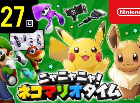 Nyannyan Neko Mario Time: pubblicato l'episodio 127 dello show felino con Mario e Peach