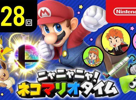 Nyannyan Neko Mario Time: pubblicato l'episodio 128 dello show felino con Mario e Peach