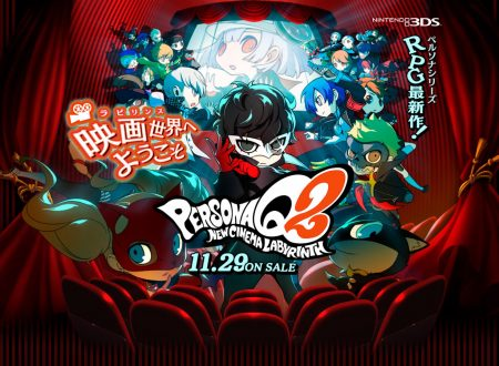 Persona Q2: New Cinema Labyrinth, mostrato il secondo dungeon in video