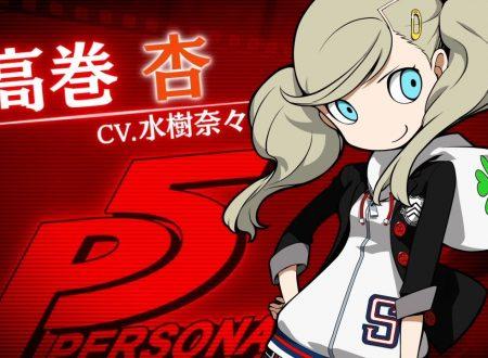 Persona Q2: New Cinema Labyrinth, pubblicato un trailer su Ann Takamaki da Persona 5