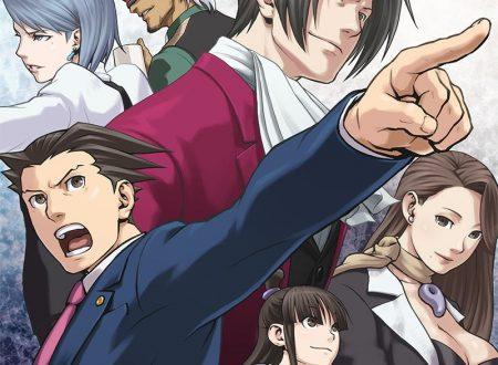 Phoenix Wright: Ace Attorney Trilogy, il titolo è in arrivo il 21 febbraio sui Nintendo Switch giapponesi, presto la data per l'Occidente