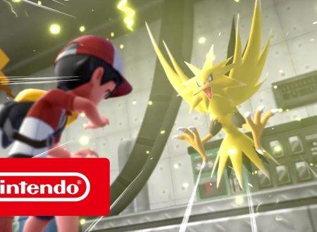 Pokèmon Let's GO, Pikachu & Eevee: pubblicato il primo spot italiano sul titolo
