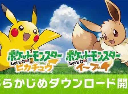Pokèmon Let's GO, Pikachu & Eevee: pubblicati dei video commercial giapponesi, il titolo non supporterà il Pro Controller