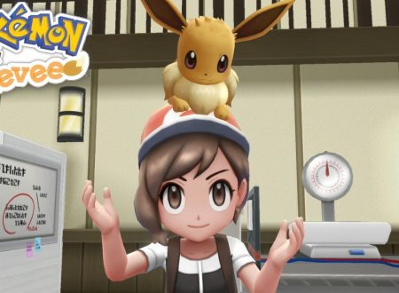 Pokèmon Let's Go: Eevee, i nostri primi 140 di video gameplay in Premiere sui Nintendo Switch europei
