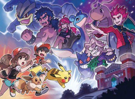 Pokèmon Let's Go: Pikachu & Eevee, il nuovo trailer ci mostra la Lega Pokèmon, i Superquattro e Rosso, Blu e Verde