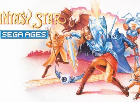 SEGA Ages: Phantasy Star è in arrivo il 13 dicembre sui Nintendo Switch europei