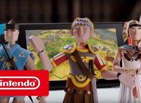 Sid Meier's Civilization VI: pubblicato il trailer di lancio del titolo su Nintendo Switch