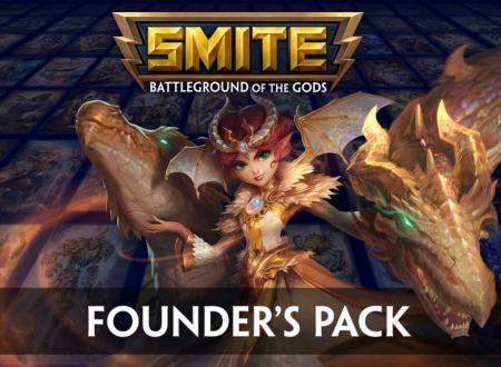 Smite: il Founder's Pack ora listato per l'arrivo il 24 gennaio 2019 su Nintendo Switch
