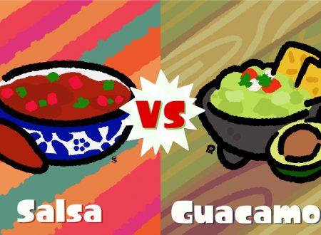 Splatoon 2: svelato il nuovo Splatfest americano, meglio la Salsa o Guacamole?