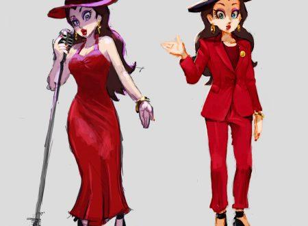 Super Mario Odyssey: pubblicati dei nuovi concept art dedicati al sindaco Pauline