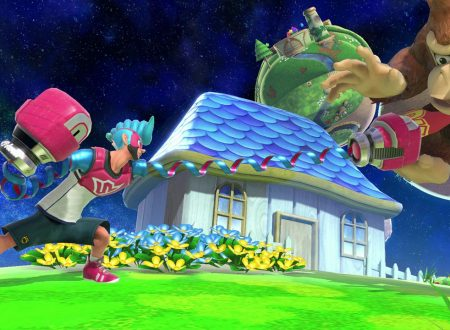 Super Smash Bros. Ultimate: novità del 6 novembre, l'assistente trofeo: Spring Man