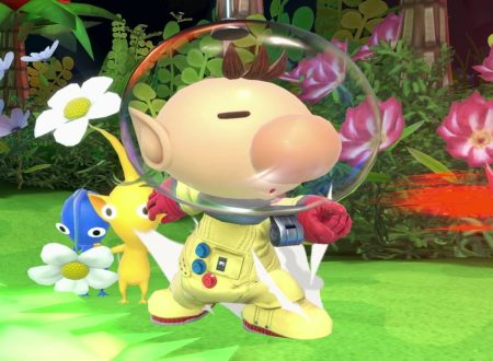 Super Smash Bros. Ultimate: novità del 8 novembre, Il capitano Olimar
