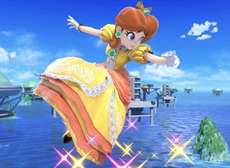 Super Smash Bros. Ultimate: un video ci mostra lo scontro tra Daisy e Palutena sulla Torre dell'orologio di Umbra