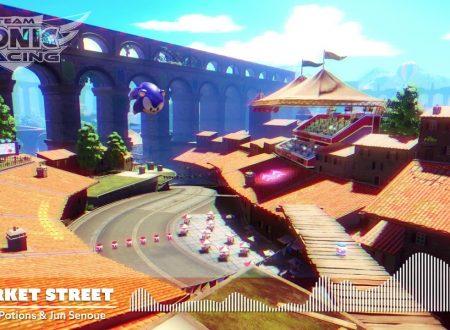 Team Sonic Racing: mostrata la soundtrack del tracciato Market Street