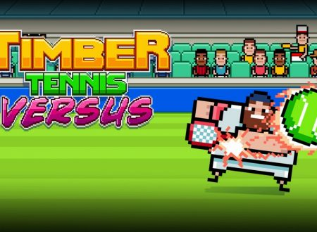 Timber Tennis: Versus, uno sguardo in video al titolo dai Nintendo Switch europei